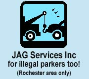 JAG for towing of illegal parkers too